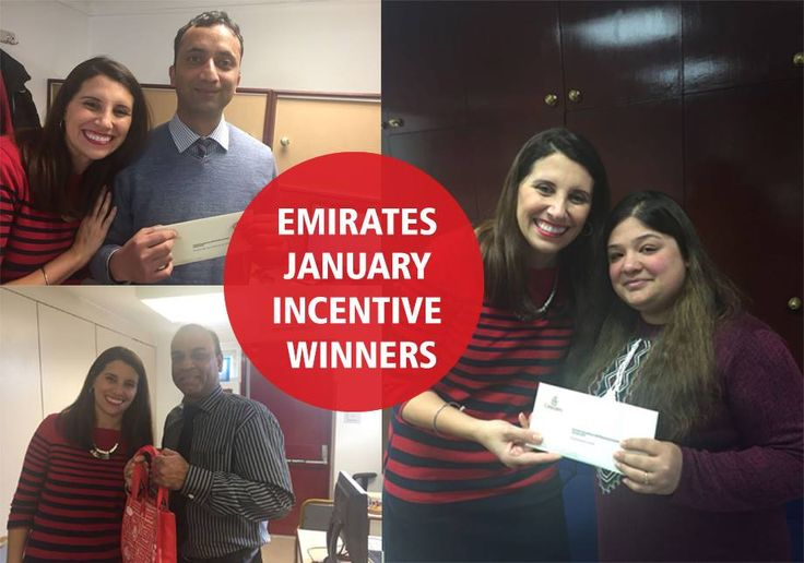 Congratulations to our agents that won prizes from Emirates for the highest sales in January!