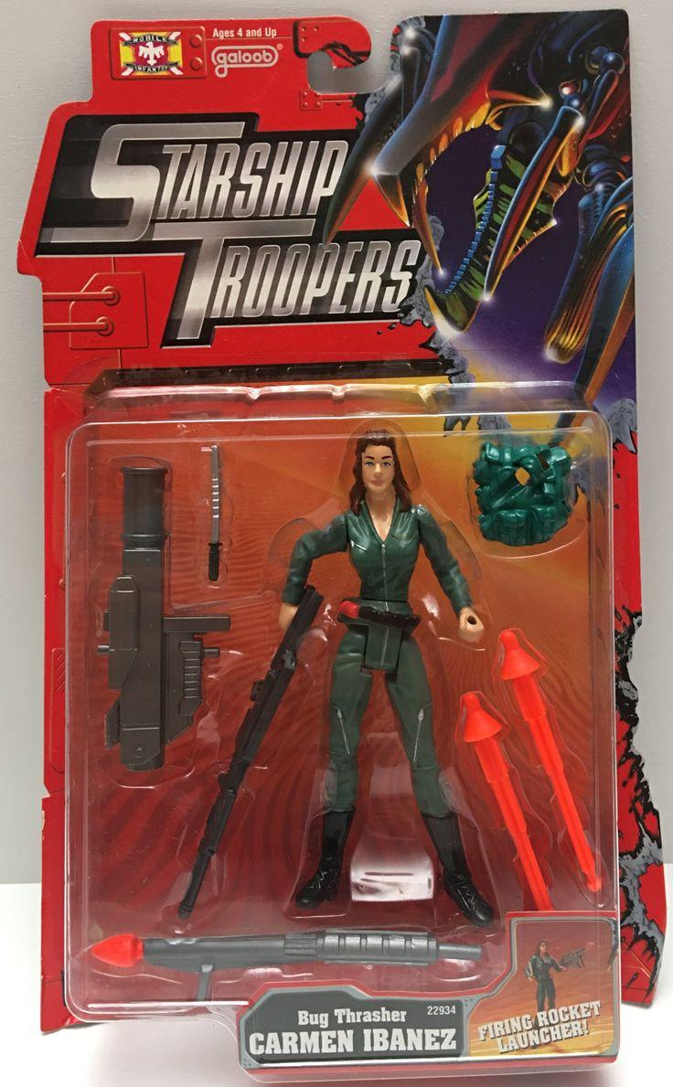 (TAS000058) - 1997 Galoob Starship Troopers Bug Thrasher Carmen Ibanez