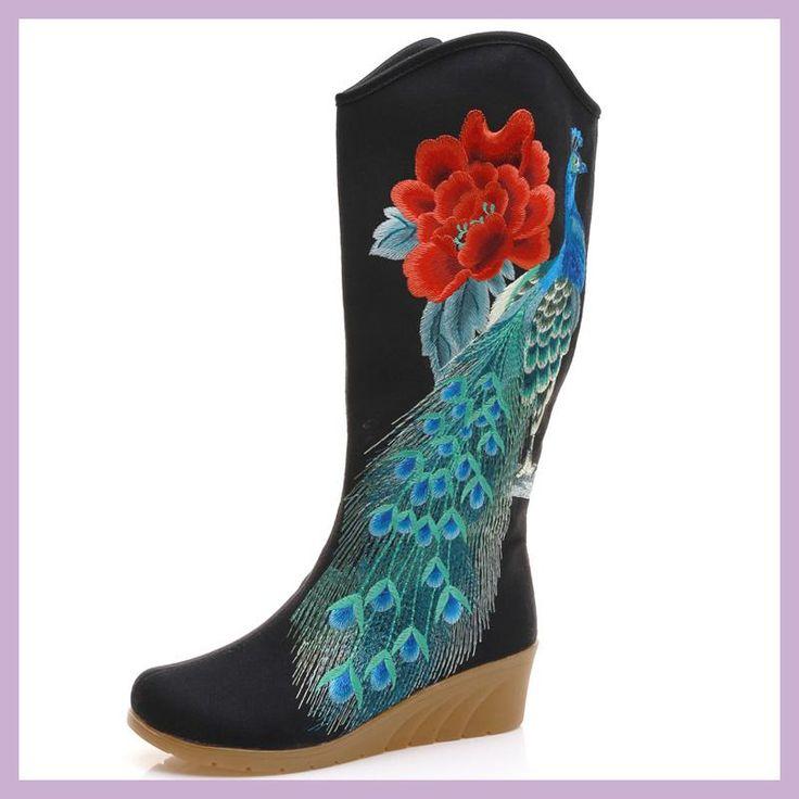TANG DYNASTY(TM) - Zapatos de cordones de Lona para mujer, color rojo, talla 38