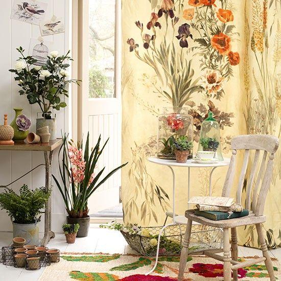 die besten 17 ideen zu blumenvorhang auf pinterest. Black Bedroom Furniture Sets. Home Design Ideas