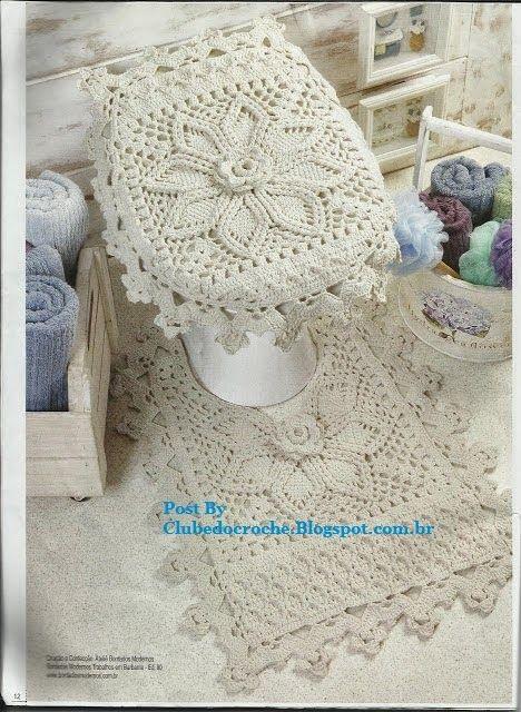 44 Best Crochet Bathroom Images On Pinterest Crochet