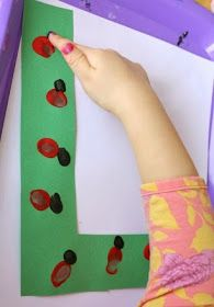 L is for Ladybug Preschool Alphabet Craft: Cute way to learn the letter L!