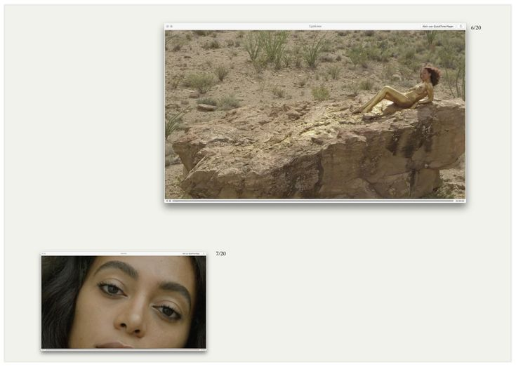 Lindsay   Moving Through Seventy States with Solange Knowles Ferguson