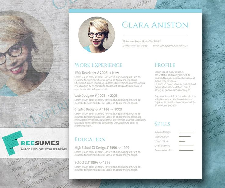 58 Best Images About Free Resume Templates For Word On Pinterest