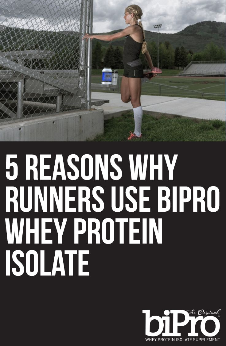 5 Reasons Why Runners Use BiPro Whey Protein Isolate