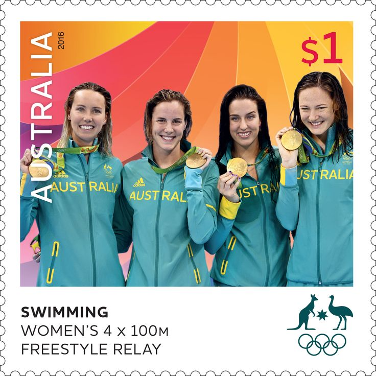 Congratulations to Emma McKeon, Brittany Elmslie, Bronte Campbell and Cate Campbell for winning a gold medal in the Women's 4x100m Freestyle Relay at Rio 2016 Olympic Games. The stamp sheetlet celebrating their win is now available in participating Post Offices and online, while stocks last: http://auspo.st/2aNJjEW  #StampCollecting #AustralianStamps #Philatelic #Philately #Olympics #Rio2016