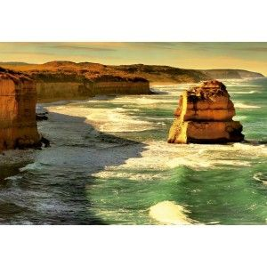 "Take a ride along the spectacular Great Ocean Road and witness what nature has to offer. This stunning view is only part of what you will see along this Australian National Heritage stretch of road. Great Ocean Road, Australia is a 1000 piece jigsaw puzzle from Educa.Finished Puzzle: 27 x 19"" Educa puzzles are known around the world for their quality standards, using green & blue boards which create exact piece fits and greatly reduces puzzle dust. As well, every Educa puzzle between 500 and…"