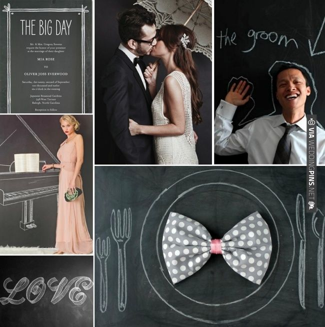 Black Chalkboard Wedding Inspiration | CHECK OUT MORE IDEAS AT WEDDINGPINS.NET | #weddings #weddinginspiration #inspirational