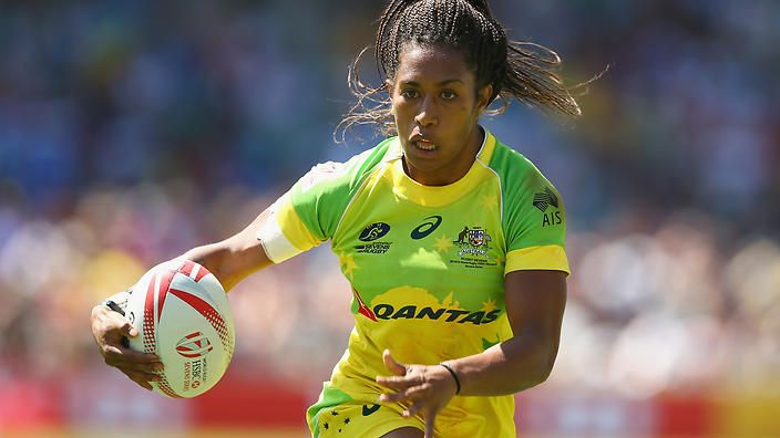 Fijian by birth, Ellia Green has no other connection with the Pacific nation, having been adopted then raised in Australia by her Polish mother and English father. She was chosen to play for Australia's Olympics rugby team--and helped them to defeat the women's team from Fiji. (The Fijian men's rugby team is favored to win gold.)