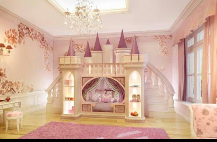 Most beautiful girls bed ever i love it girls bedrooms pinterest beautiful beds and love - Pics of beautiful room of girls ...