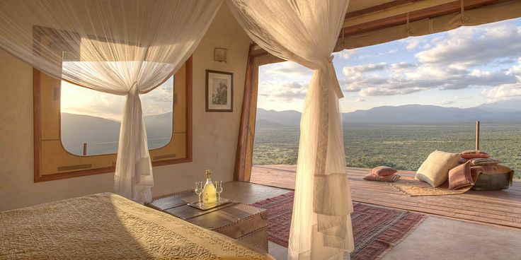 Saruni Samburu - As dusk approaches relax on your large verandah and enjoy the sounds of nature that surround you.