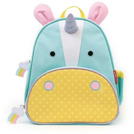 Any kind of toddler backpack. This one is SkipHop Zoopack from Target