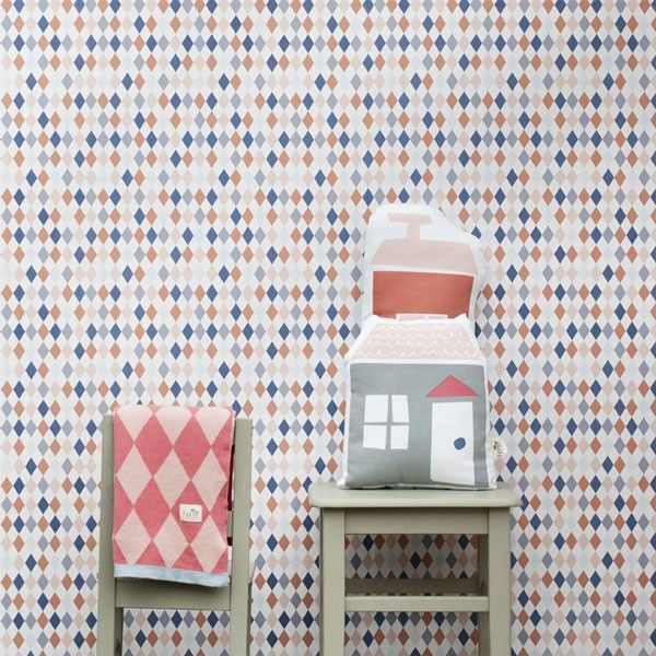 Ferm Living Happy Harlequin behang | FLINDERS verzendt gratis