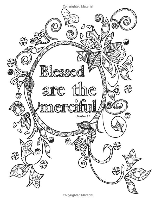 Inspirational Bible Blessings Quotes Worship 2 Color Bible