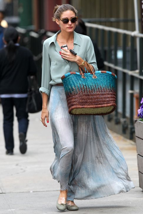 Button down shirt with a pleated skirt