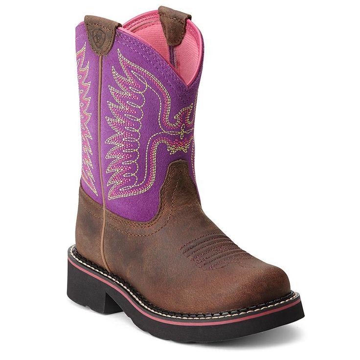 Ariat Kid's Thunderbird Fat Baby Western Boots