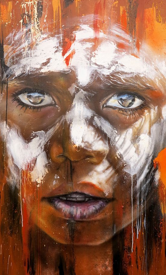 Australian street artist, Matt Adnate, spent a lot of time traveling and painting the world. He has contributed to the scene through countless street art murals and exhibitions. You can find his work in cities such as New York, Paris, Berlin, Barcelona, Sydney and Mumbai.