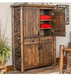 The newly added Westcliffe Pointe line will make your clothes look even more stylish than they already do. Find yours at www.logfurnitureplace.com