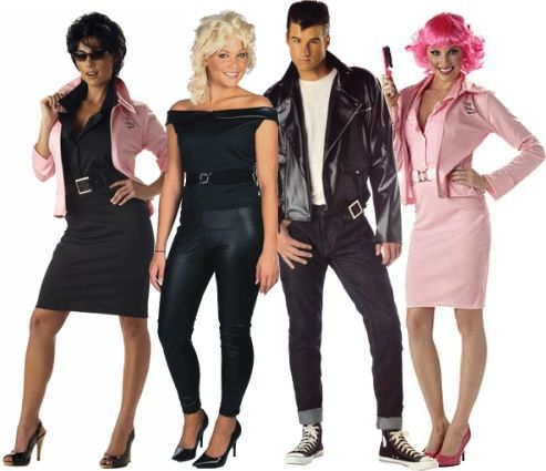 Costumes Inspired By Grease 1974 If I Ever Have A Costume Party This Is Disfraces En Grupo Disfraz Grease Disfraces