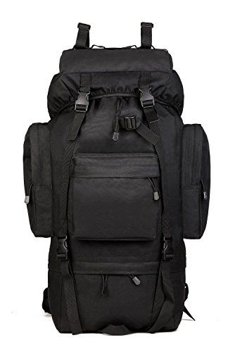 65L Tactical Military Backpack Water Resistant Hiking Camping trekking Rucksack TAssault Pack Sport Outdoor knapsack Climbing Bags Molle Bag(Black) For Sale https://besttacticalflashlightreviews.info/65l-tactical-military-backpack-water-resistant-hiking-camping-trekking-rucksack-tassault-pack-sport-outdoor-knapsack-climbing-bags-molle-bagblack-for-sale/