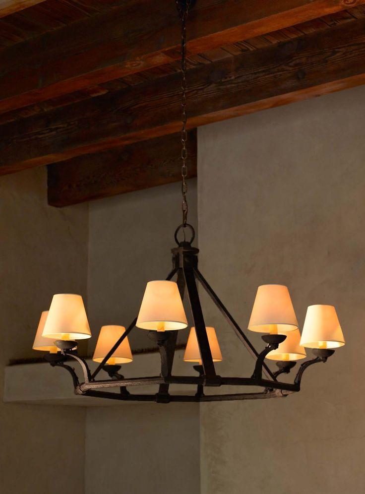 The rustic elegance of ralph lauren home 39 s robertson for Rustic elegance interior design