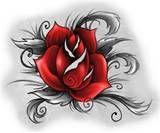 flower tattoo photo: red flower Tattoo_Red_Rose_by_rokkell.jpg