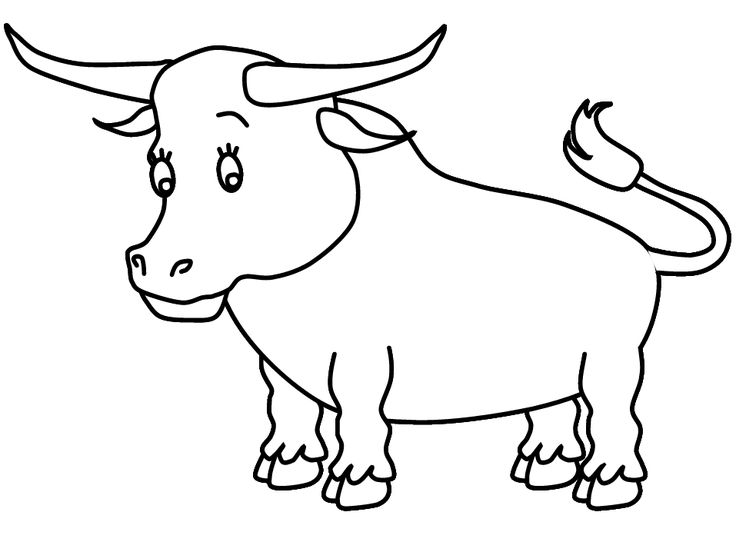 bull+coloring+page | ferdinand the bull coloring page for kids | ColoringGuru