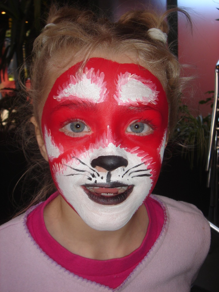 face painting red panda - Google Search