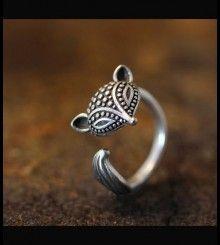 Δαχτυλίδι αλεπουδίτσα