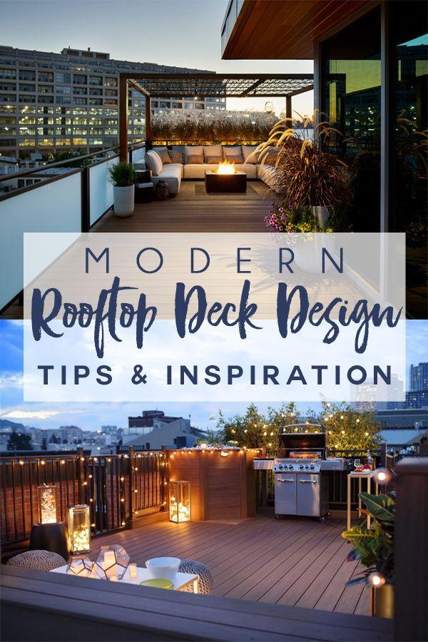 Modern Rooftop Deck Design Tips Inspiration Rooftop Design Rooftop Terrace Design Rooftop Patio Design
