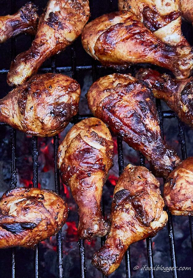 Simple ingredients, simple to make, the best spicy BBQ-style grilled chicken…
