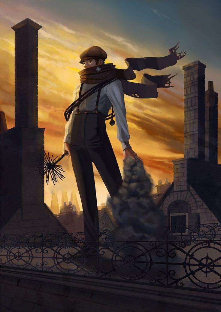steampunk chimney sweep