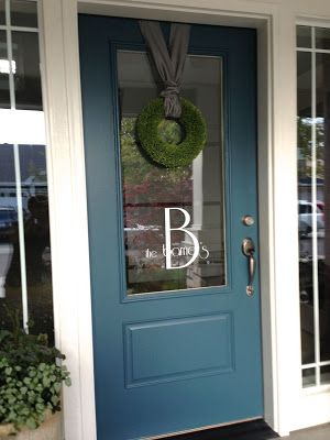 My Suite Bliss: The Exterior   Door color Tempest Star SW