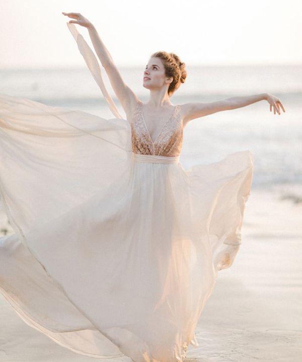 20 Utterly Romantic Ballerina-Inspired Wedding Dresses