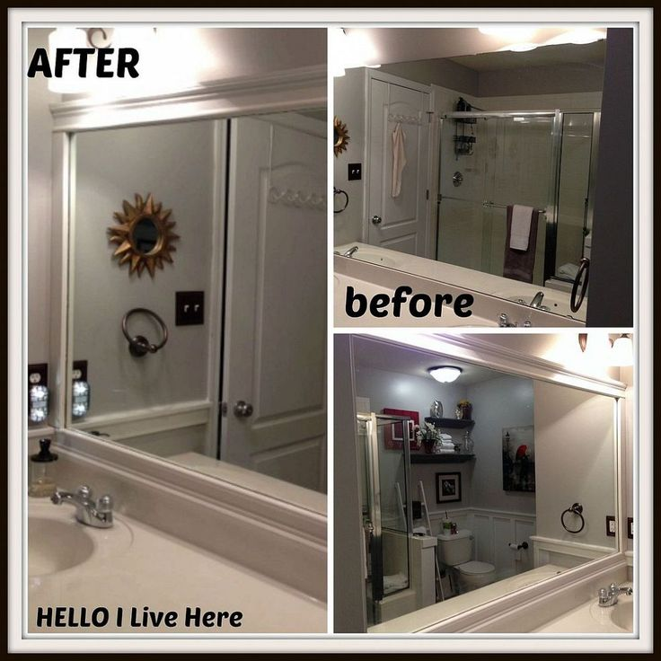 best 25+ framed bathroom mirrors ideas on pinterest | framing a