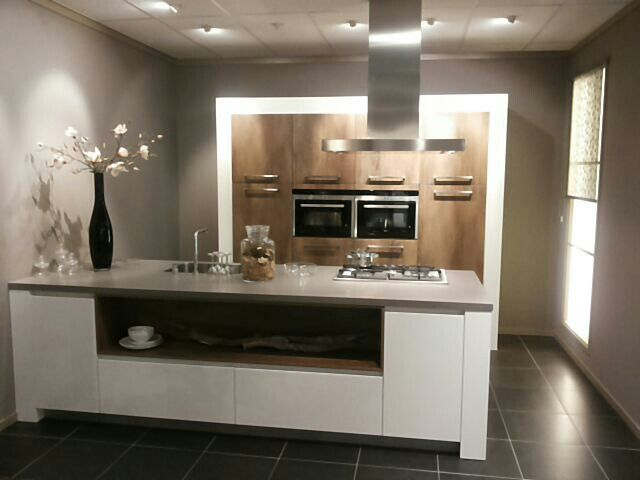 Taupe Kleurige Keuken : 1000+ images about Kitchen on Pinterest Met, Modern open kitchens