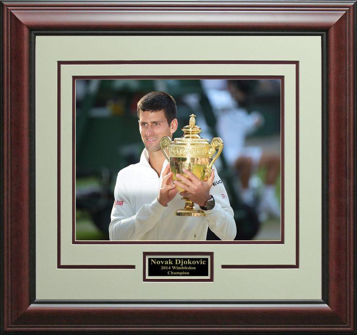 Signature Royale - Novak Djokovic Wins 2014 Wimbledon Photo Display.@djokernole, @wimbledon , $52.95 (http://www.signatureroyale.com/novak-djokovic-wins-2014-wimbledon-photo-display/)