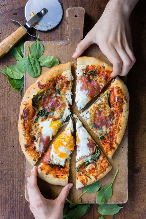 Before you grab the phone to order takeaway, read this recipe for the most delicious pizza.