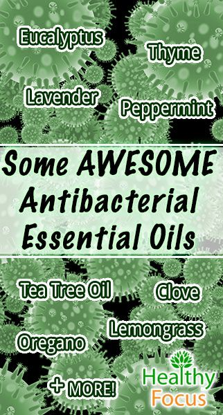 11 Powerful Antibacterial Essential Oils. Find out what research says about essential oils and bacteria. Studies have shown these oils fight Staph and MRSA!