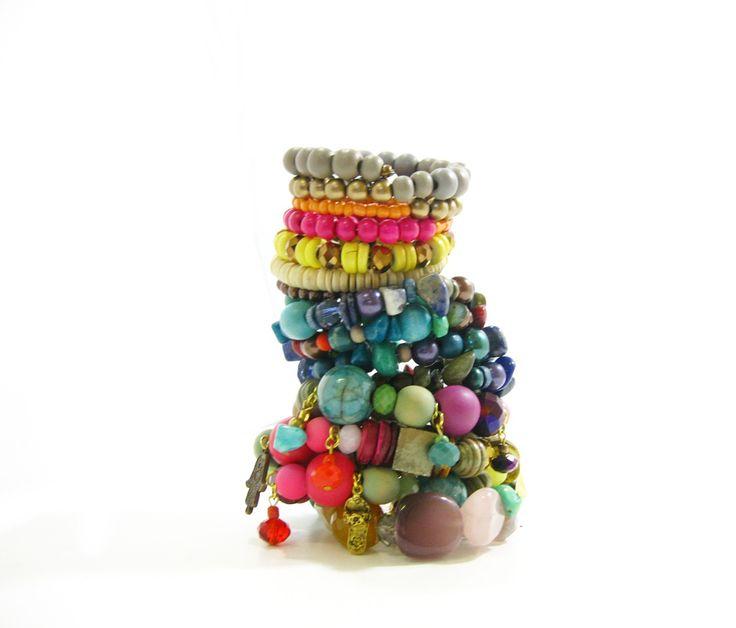 Bracelet Stack by Marzipan Jewellery