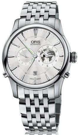 Oris Watch Artelier Greenwich Mean Time Bracelet Limited Edition #bezel-fixed #case-material-steel #case-width-42mm #date-yes #delivery-timescale-call-us #dial-colour-silver #gender-mens #gmt-yes #limited-edition-yes #luxury #movement-automatic #official-stockist-for-oris-watches #packaging-oris-watch-packaging #style-dress #subcat-artelier #subcat-limited-editions #subcat-oris-gmt #supplier-model-no-01-690-7690-4081-07-8-22-77 #warranty-oris-official-2-year-guarantee #water-resistant-50m