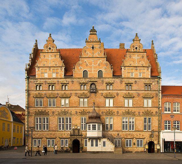 Jens Bangs Stenhus (built 1624) Aalborg, Denmark
