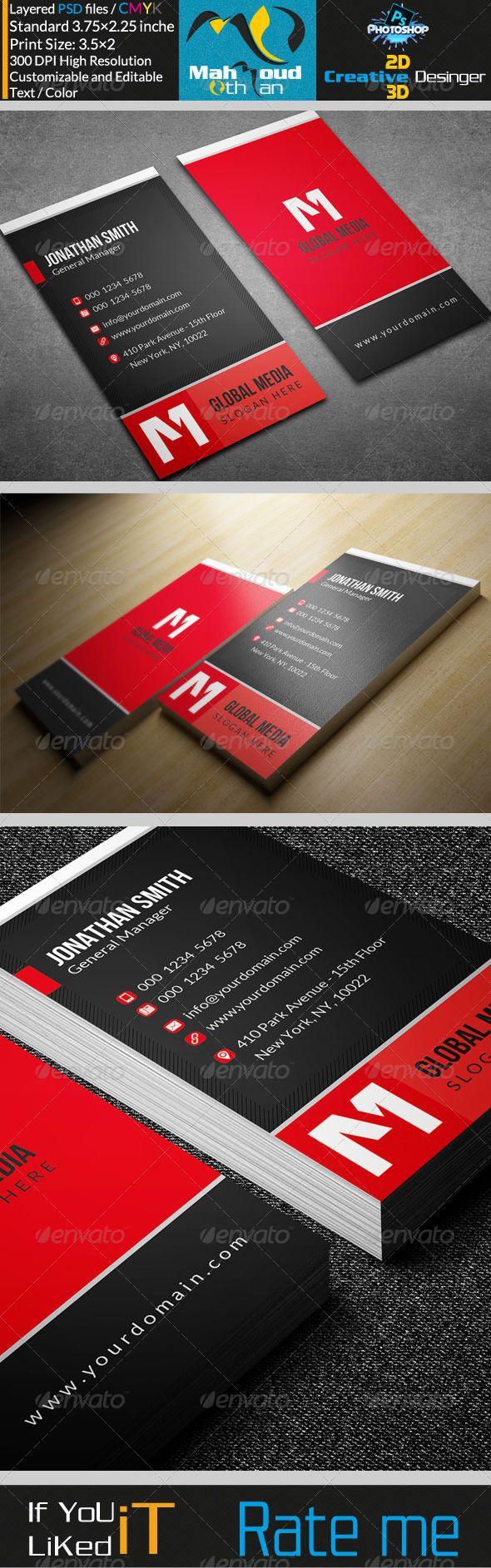 52 best business card images on Pinterest   Business card design ...