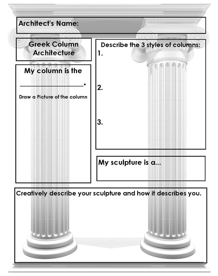 171 best Column images on Pinterest | Ancient greece, Architects ...