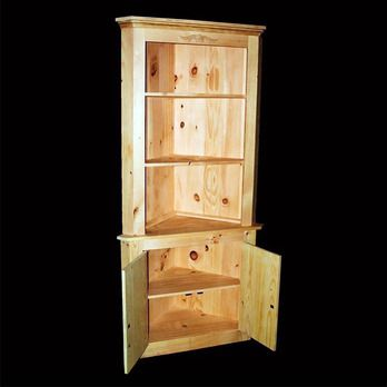 Country Corner Cabinet Woodworking Plan by Paul Anderson I