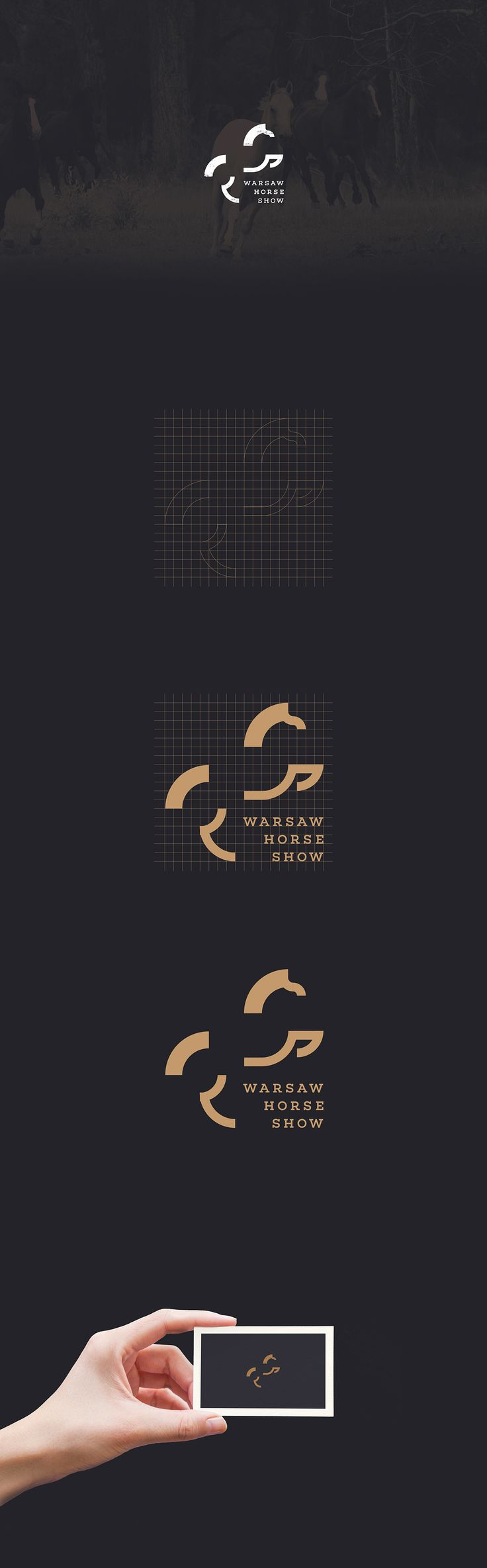 Warsaw Horse Show Logo on Behance