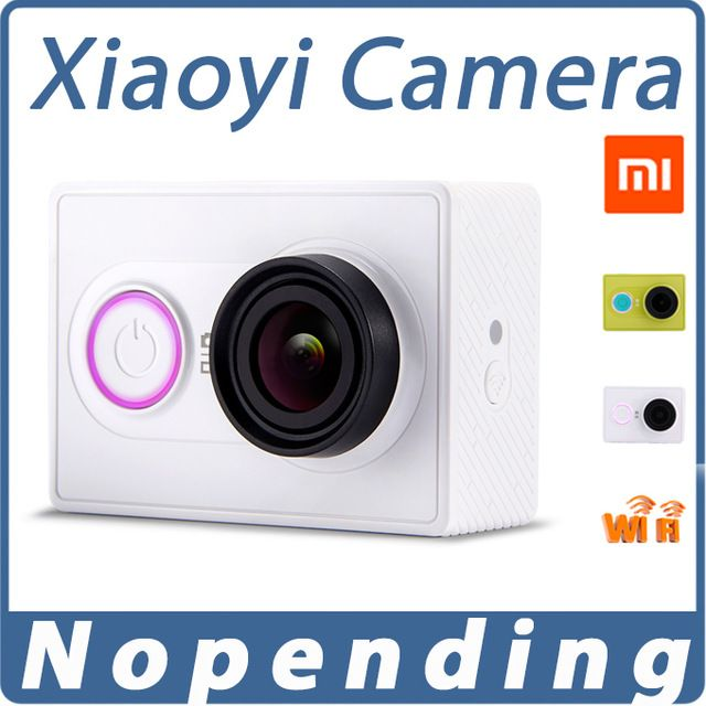 Original Xiaoyi yi Action Sports Camera Xiaomi WiFi Mi Sport Camera 16MP 60FPS WIFI Ambarella Bluetooth 4 Waterproof Smart Z23L US $84.43-151.99 /piece Specifics High Definition Support 	1080P (Full-HD) Brand Name 	xiaomi Package 	Yes  Click to Buy:http://goo.gl/Ld8Y6A