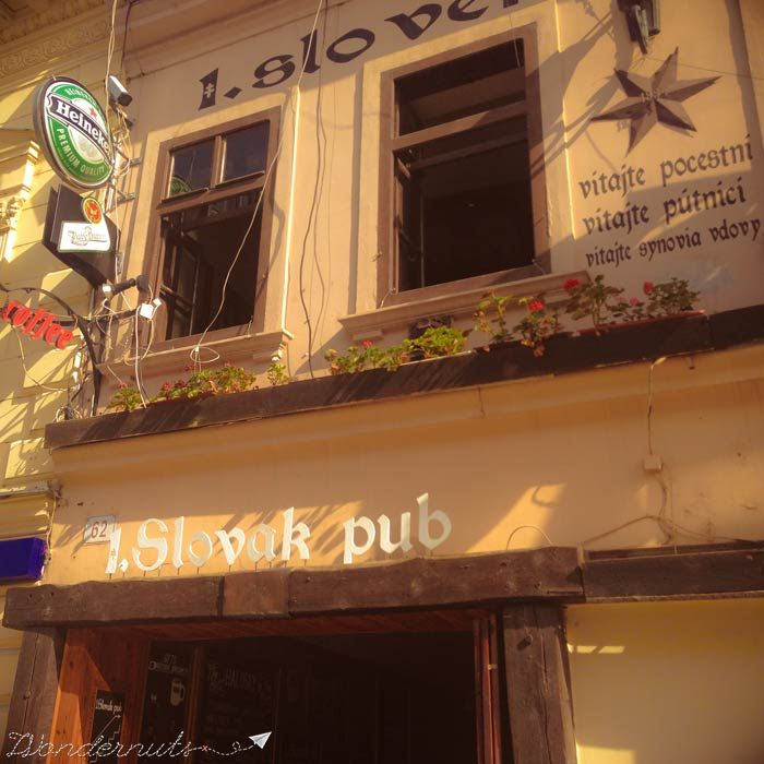 1 Slovak Pub Nom Nom Nom #bratislava #slovakia