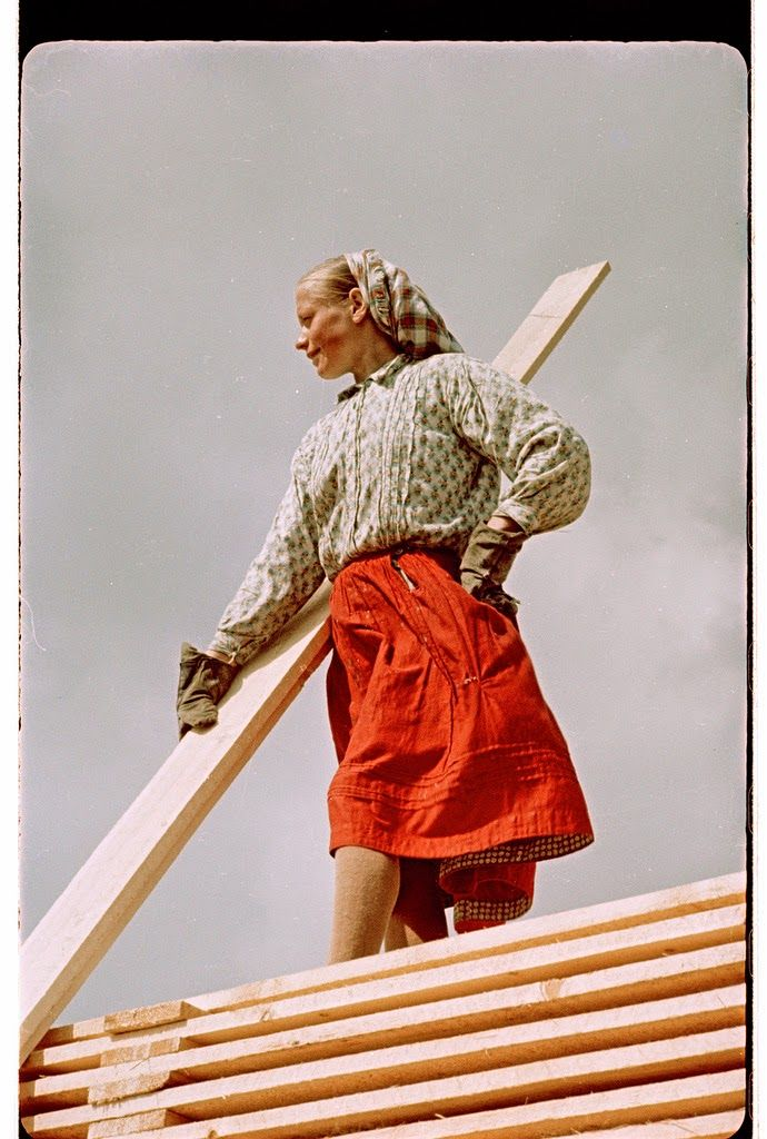 vintage everyday: Beautiful Color Photographs of Russia in the 1950s