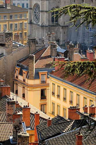 Vieux Lyon.  Old world style and modern gourmet cuisine meet in this wonderful French City.
